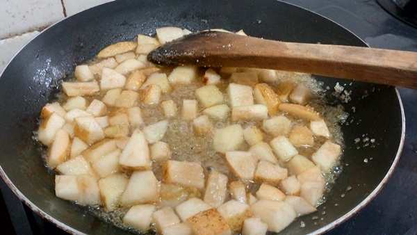 apple rhum sauce