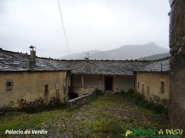 Palacio de Verdín, Doiras,  Boal