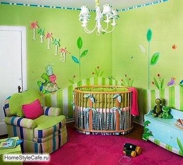 Como Decorar Habitaciones Para Bebes Sin Gastar Demasiado - Pintura-habitaciones-nios