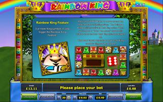 Игровой автомат Rainbow King