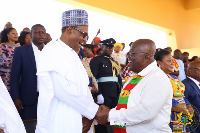President Akufo-Addo Congratulates President Muhammadu Buhari On His Re-Election