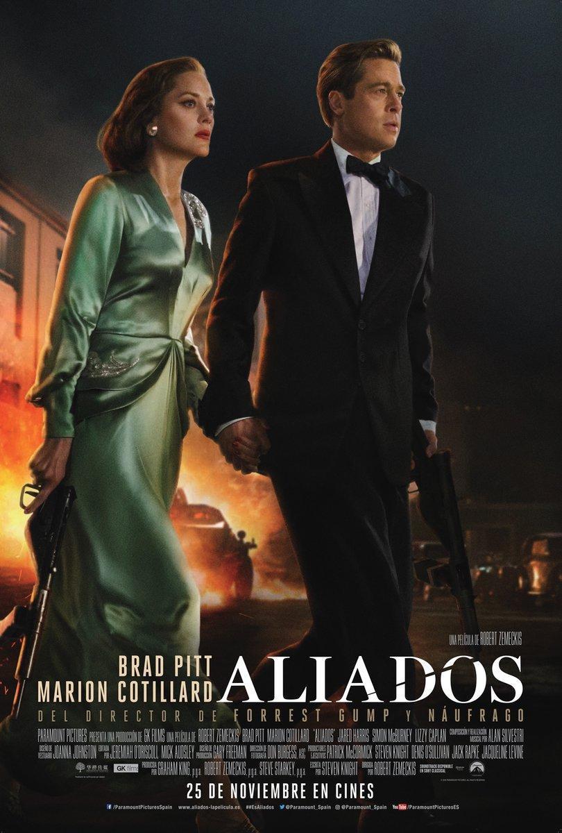 Aliados Allied 2016 Descargar película DVDRip Hd 1080p Español
