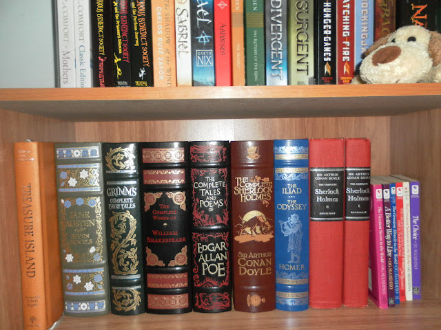 Barnes & Noble Classics Leatherbound Edition Shelf