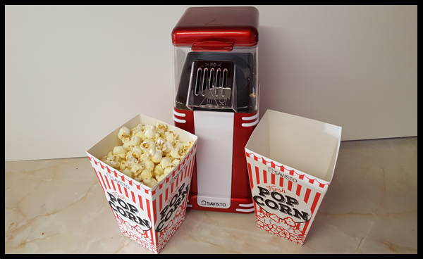 Vintage Style Popcorn Maker