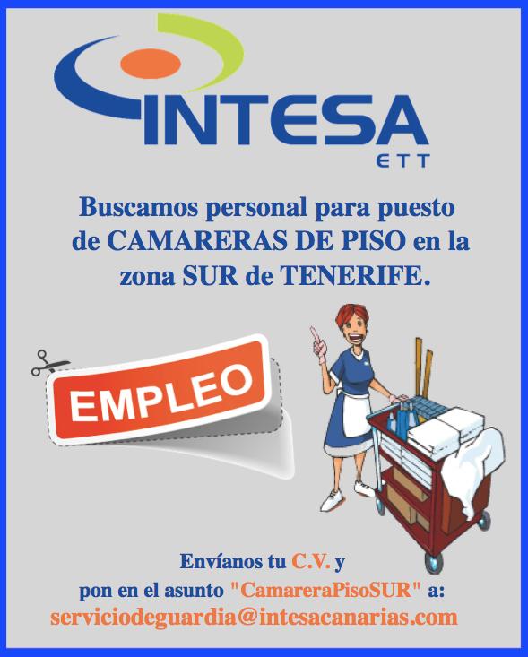 Fpempleo 3 ofertas empleo tenerife sur for Pisos embargados tenerife sur
