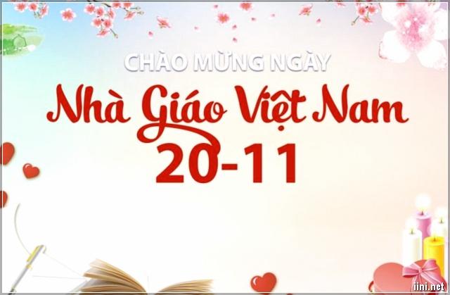 ảnh chúc mừng ngày nhà giáo Việt Nam 20-11 ý nghĩa