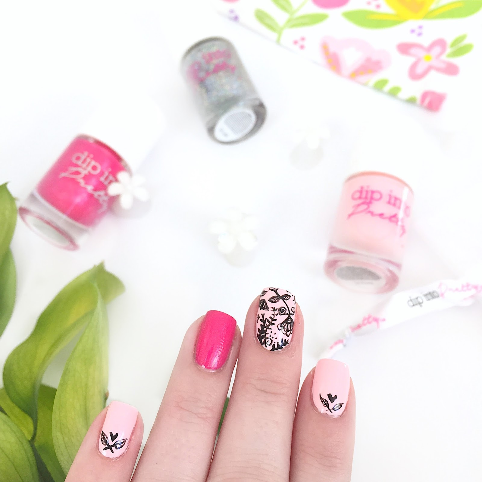Dip Into Pretty Nail Art