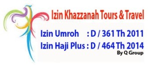 Izin Khazzanah Tour Travel Umroh Jakarta