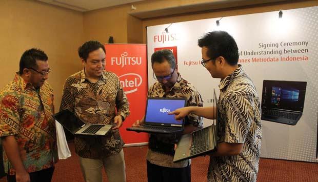 Fujitsu Tunjuk Metrodata Jadi Distributor Lifebook PCs