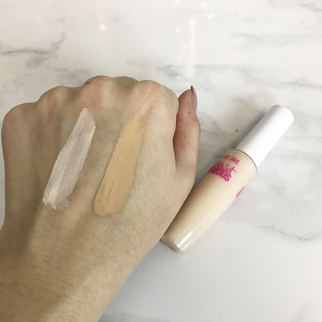 Covergirl ready set gorgeous foundation and concealer swatches