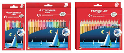PENSIL WARNA STAEDTLER LUNA Pensil warna watercoloured