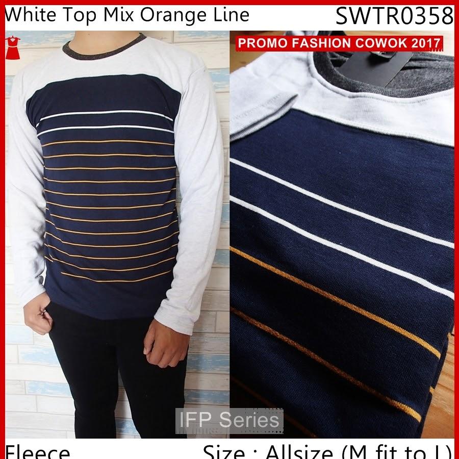 BIMFGP071 Orange Sweater Casual Fashion Pria PROMO
