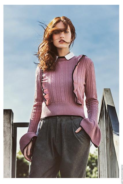 Moda invierno 2017. Moda mujer invierno 2017 moda. Moda 2017 sweaters tejidos invierno 2017.