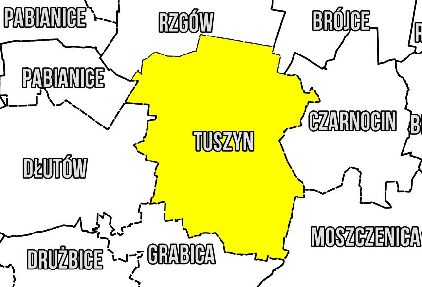 Tuszyn Mapa Geodezyjna