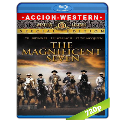 Los Siete Magníficos (1960) BRRip 720p Audio Trial Latino-Ingles-Castellano 5.1