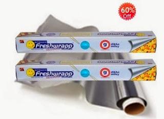 Hindalco Freshwrapp Aluminium Foil- 9mtrs (Set of 2)
