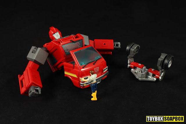 shadow fisher masterpiece ironhide upgrade kit assembley