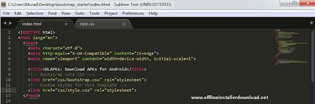 Sublime text 3 offline installer download