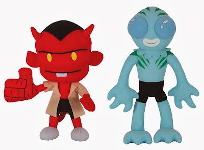 The Blot Says Itty Bitty Hellboy Plush Figures By Dark