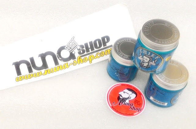 Minyak Rambut - Chief Hold Waterbased Pomade Skyblue Isi 4.2oz