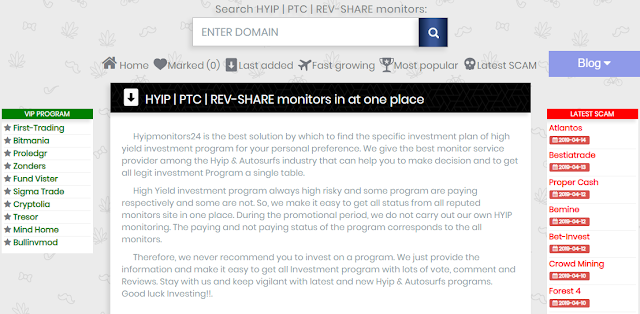 {filename}-Hyip | Ptc | Rev-share Monitors In At One Place