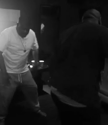 Lol! Watch Don Jazzy And DJ BigN Show Off Their Dance Moves While In The Studio