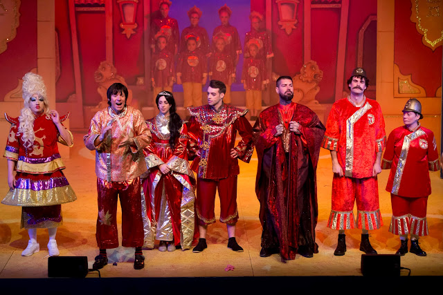 Aladdin at Whitley Bay Playhouse