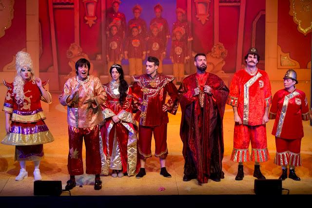 Aladdin at Whitley Bay Playhouse
