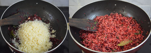 Beetroot Couscous Pilaf Recipe