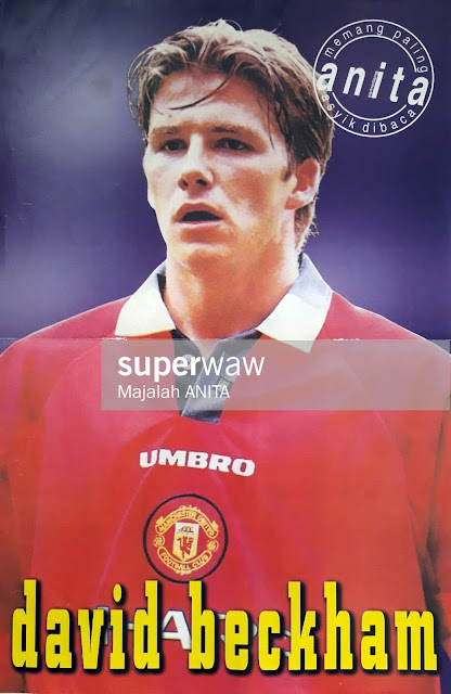 DAVID ROBERT JOSEPH BECKHAM (MAN. UNITED 1997)