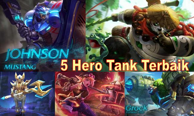 Ini 5 Hero Tank Terbaik di Mobile Legends, Keras Kayak Batu!