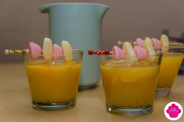 Punch orange, mangue, vanille