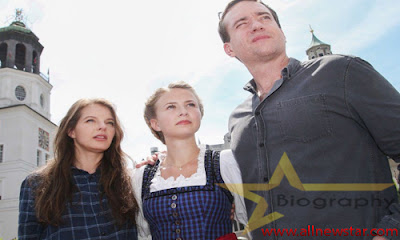 Yvonne Catterfeld Family