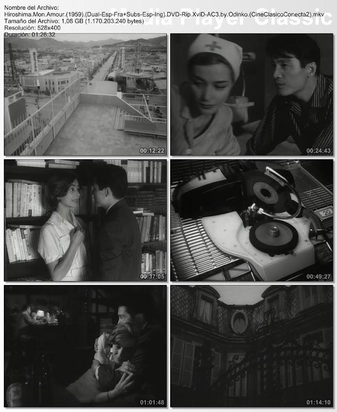 Hiroshima, mon amour | 1959 | Capturas de pantalla