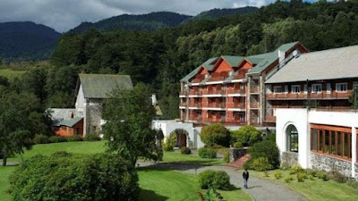 Hotel Termas de Puyehue, South of Chile.