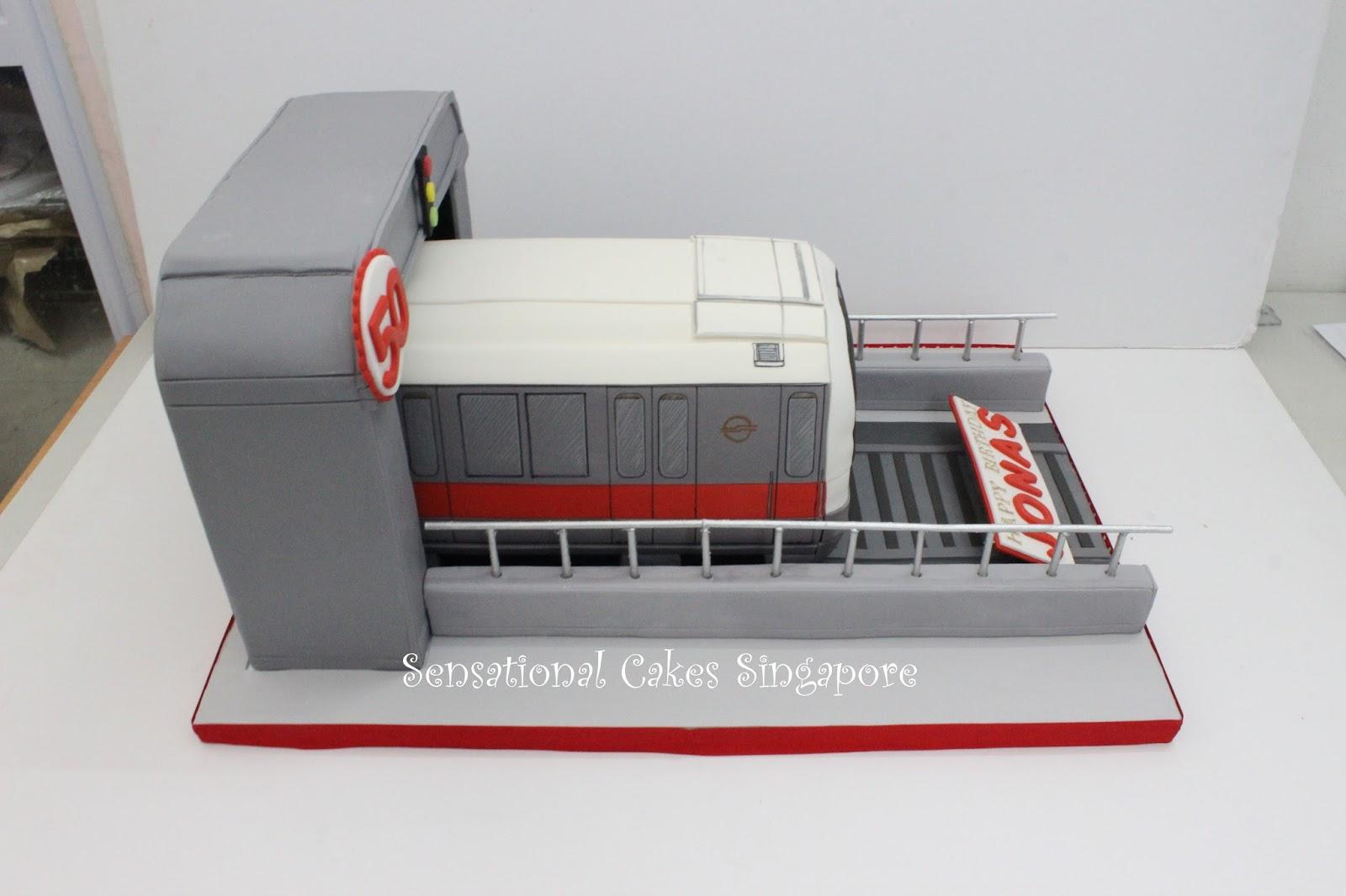 The Sensational Cakes Spectacular Smrt Train Transport