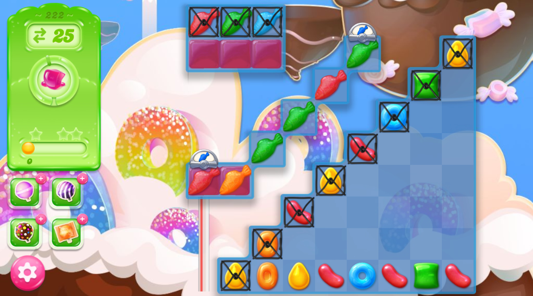 Candy Crush Jelly Saga 222