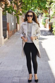 gabardina camiseta rayas trench striped