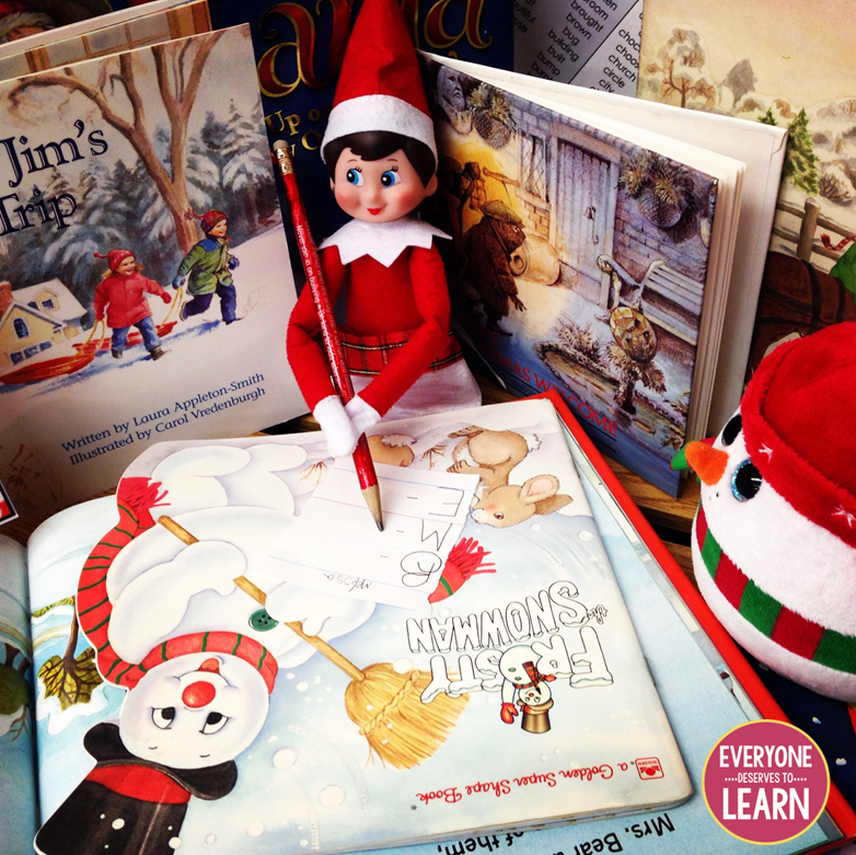 Elf On The Shelf Ideas 2020 12 Days of Elf Mas (Classroom Elf on the Shelf Ideas) | Everyone