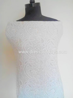 Intricate Chikankari Embroidery