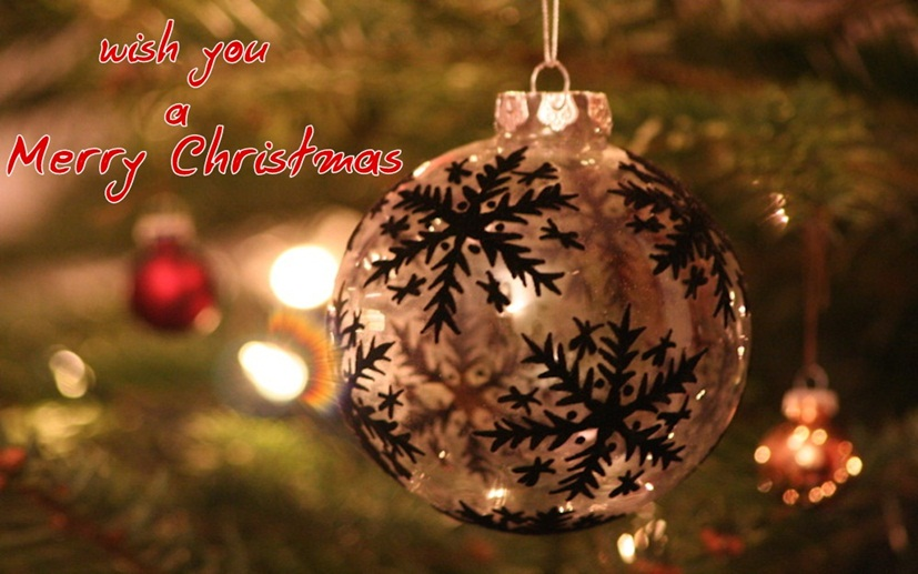Greeting Card for Christmas Bell