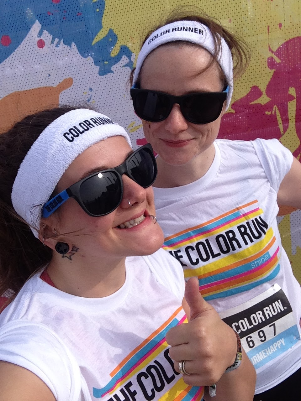 FitBits | Brighton Color Run 2015