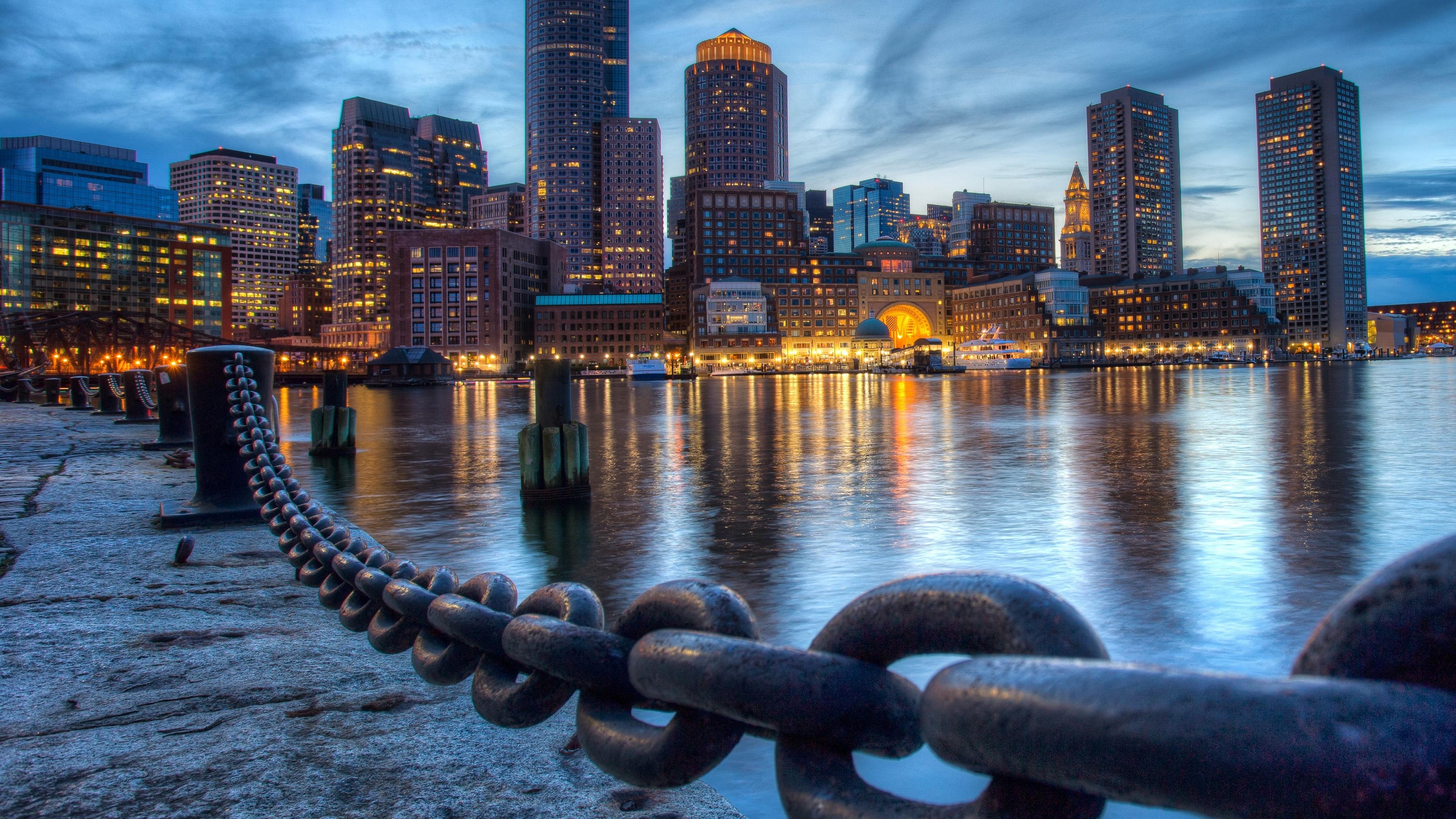 boston view hd wallpapers 4k