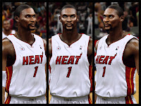 NBA 2K13 Chris Bosh NBA2K Patch Hair Update
