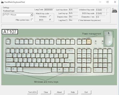 Software Untuk Mengetes Keyboard Laptop/PC