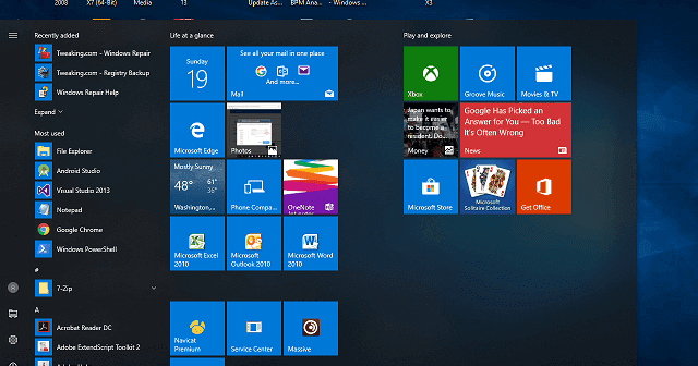 Image Result For Tips Memperbaiki Start Menu Windows