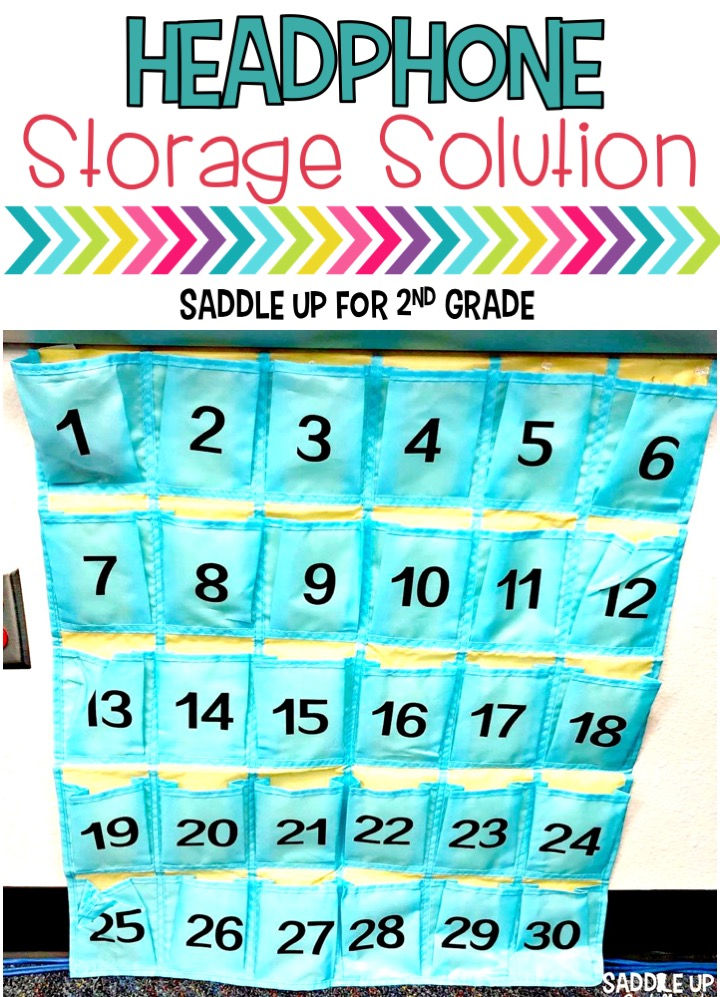 The headphone storage battle is real. Come see how I solved this problem in my classroom.