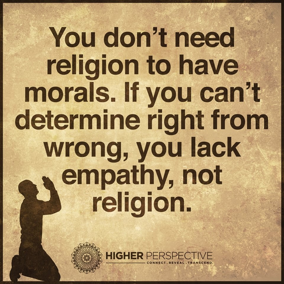 does morality need religion