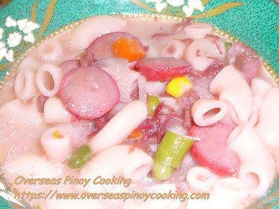 Corned Beef Sopas Recipe