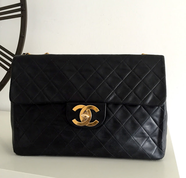 sac chanel jumbo XL vintage